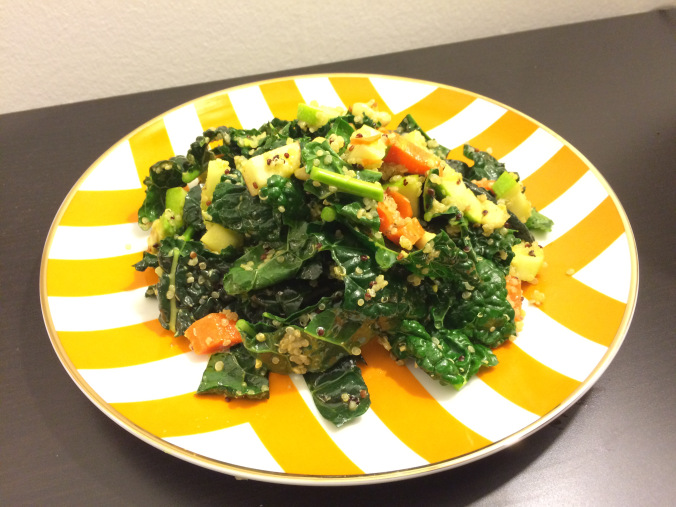 Kale Cashew And Quinoa Salad