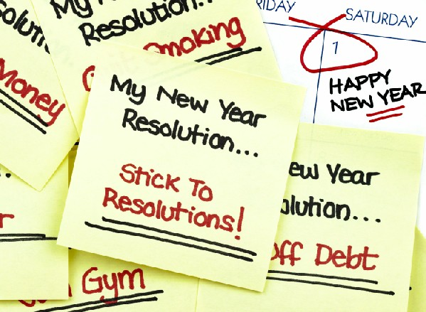 Simple Tips Sticking New Years Resolution