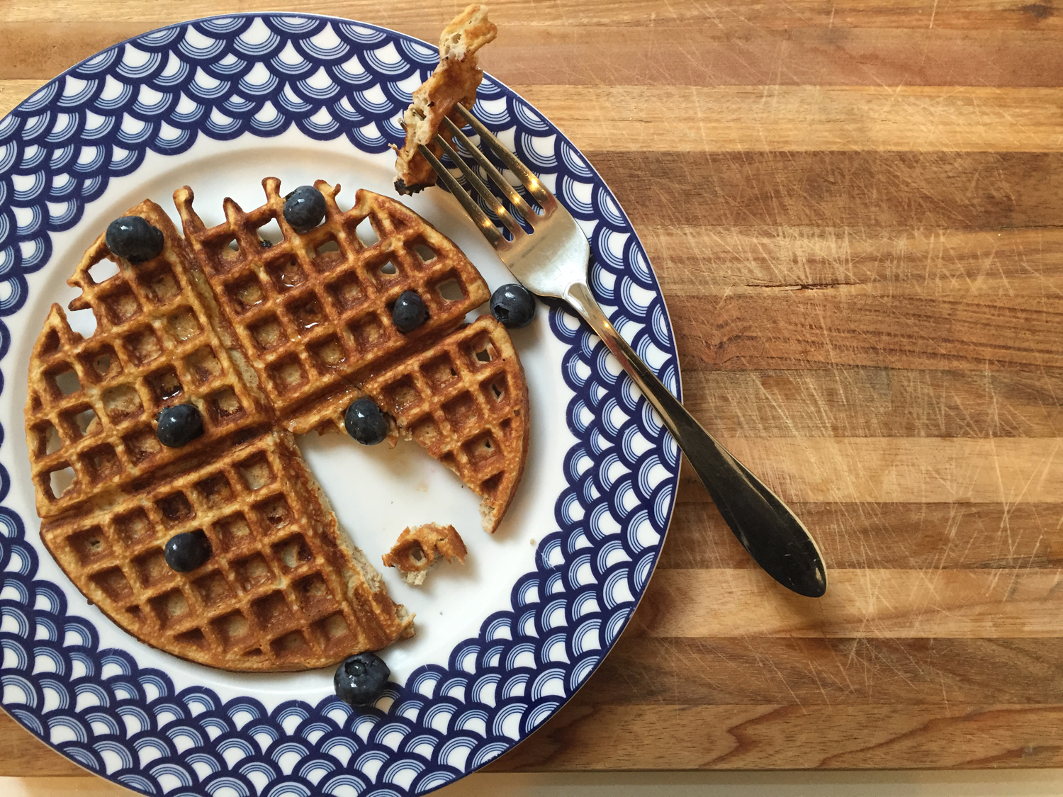 Best Ever Protein Waffles