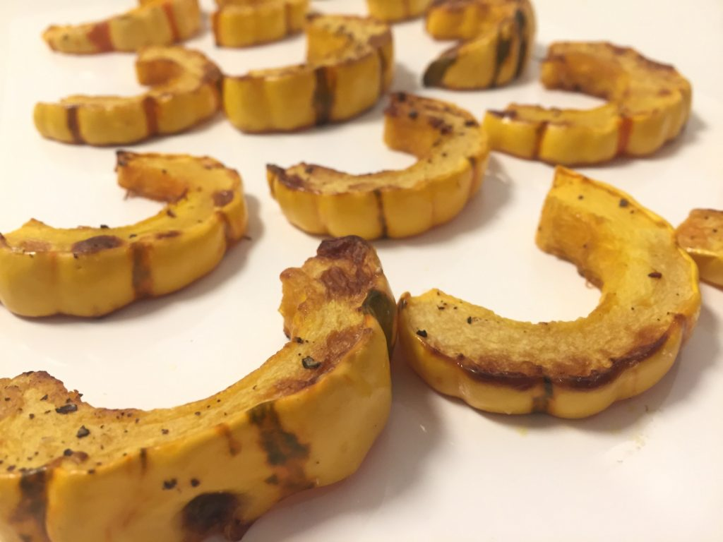 Easy Roasted Delicata Squash