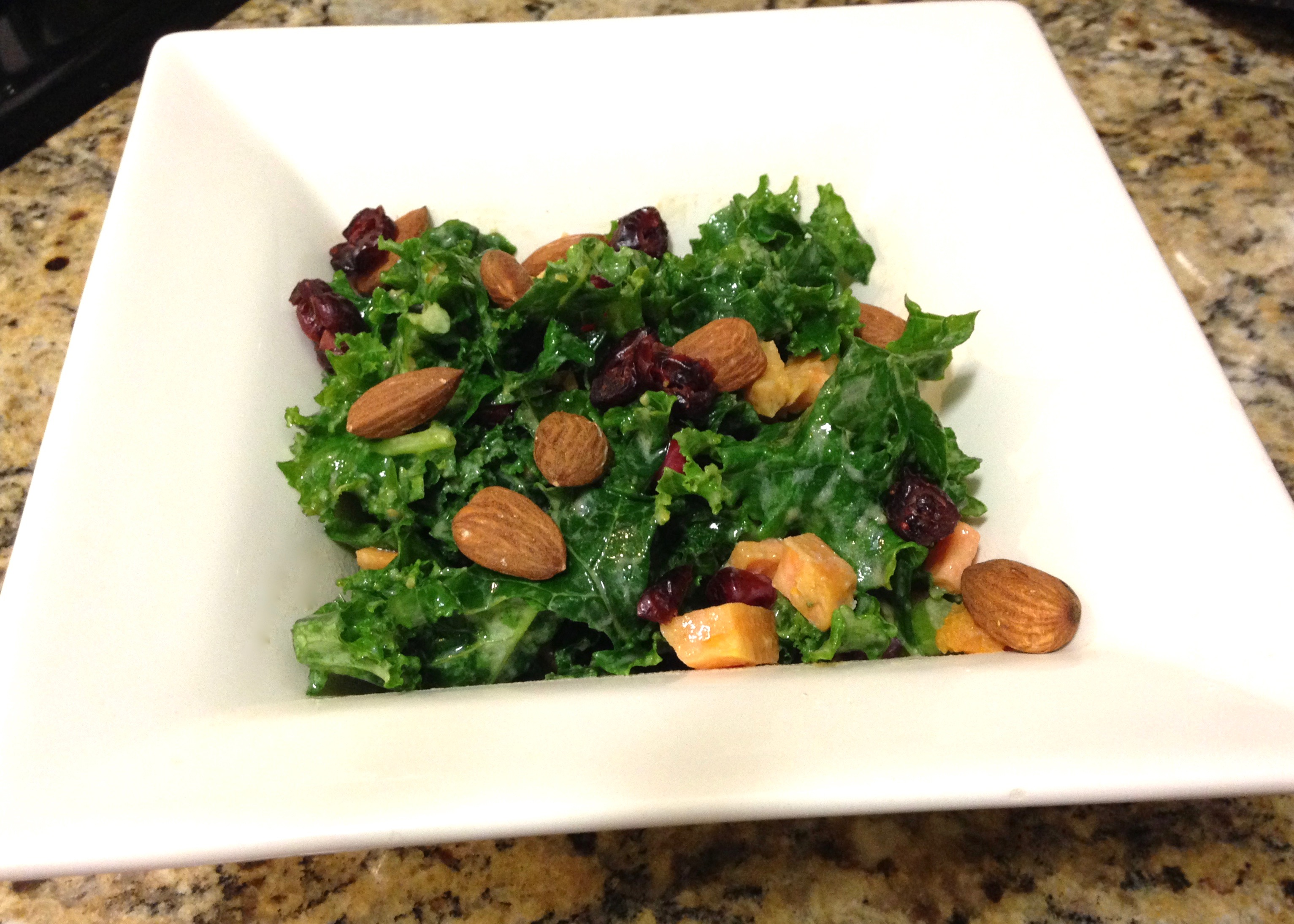 Roasted Vegetables And Kale Salad